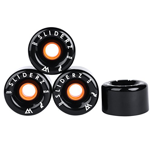 Magneto SLIDERZ Longboard Wheels | Skateboard Wheels, Sliding & Tricks