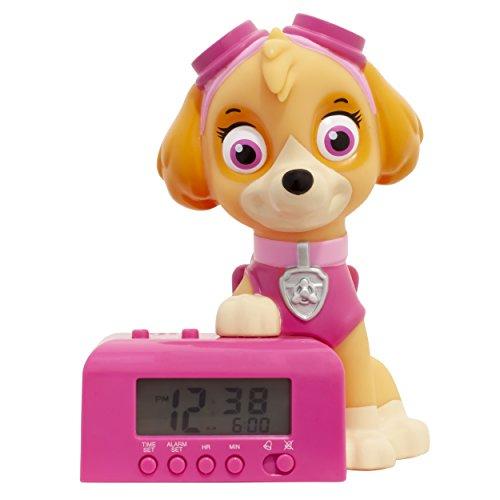 BulbBotz - Kinderwecker in Braun/Pink, Größe 5'5