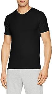 Abanderado ASA040X, Camiseta X-Temp con Manga corta para Hombre, Negro, Medium (Tamaño del fabricante:M/48)