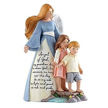 CB Catholic Saints of God - Guardian Angel Statue
