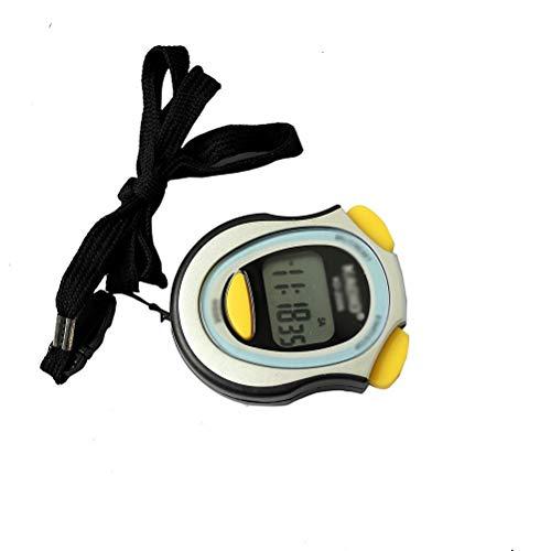 SODIAL(R) Contatore cronometro cronografo digitale cronometro con cinghia Pop