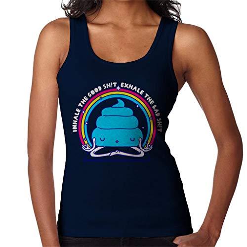 Namashite Yoga Poop Women's Vest