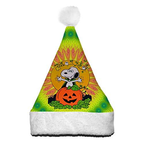 WeiTao - Sombreros de Pap Noel para Halloween con luces LED de color para disfraz de Navidad