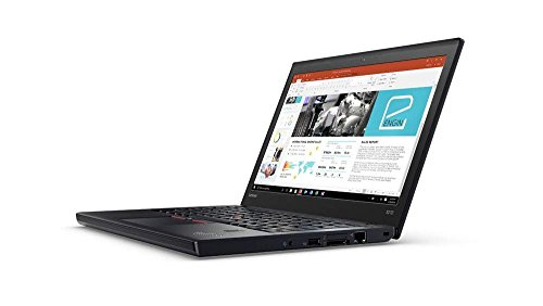 Lenovo ThinkPad X270 12.5-Inch Notebook - (Black) (Intel i5-6200U Processor, 8 GB RAM, 256 GB SDD, Intel HD 520 Graphics, Windows 10 Pro)