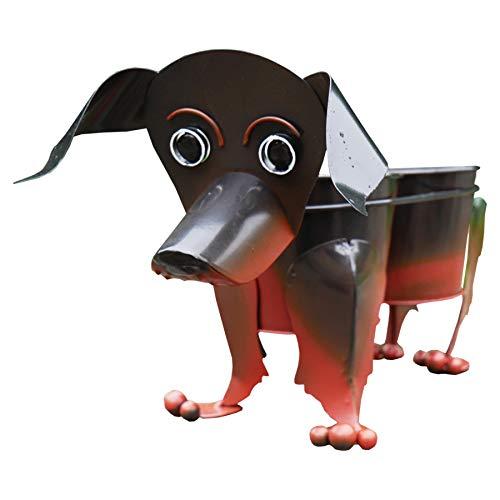 Prodbuy Home Nodding Dog Garden Planter Indoor/Outdoor Plant Pot (Sausage Dog)