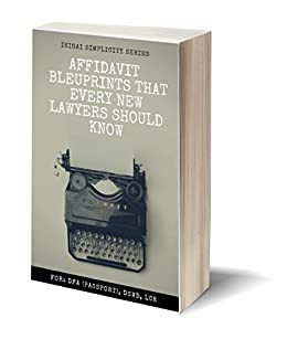 Affidavit Blueprint every new lawyers should know: (Philippine Laws) by [Richelle JJ]