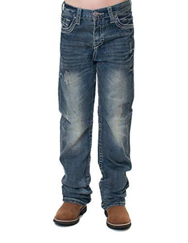 B. Tuff Western Denim Jeans Boys Torque 16 Reg Medium Wash BJTRQE