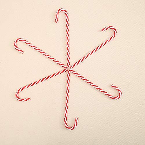 Xpizo - 30 bastoncini di zucchero natalizi per albero di Natale