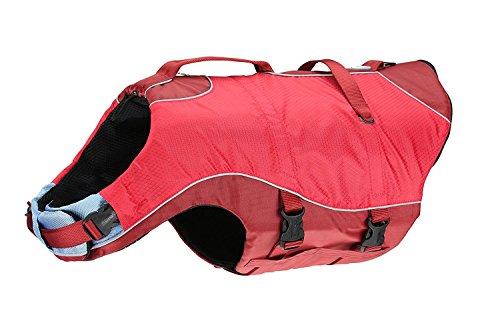Kurgo Dog Water Life Jacket, Inflatable Safety Jacket for Dogs, Lifejacket Doggy Floats for Kayak,...