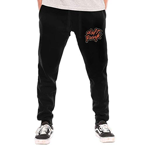 maichengxuan Daft Punk Homework Men's Sweatpants Track Jogger Pants Gym Training Leggings Long Pants