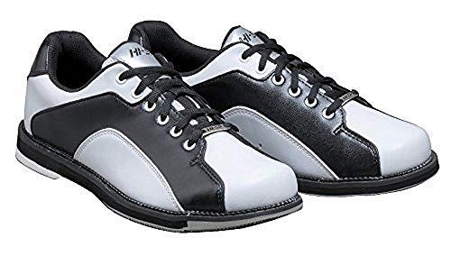 (ハイ・スポーツ) ボウリングシューズ HS-390 ホワイト・ブラック 27.0cm/右投げ 【ボウリング用品】