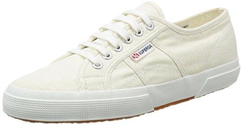 Superga 2750-linu, Zapatos de Cordones Derby, Blanco (Weiß (White), 35 EU