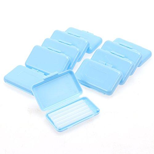 Supvox Dental Wachs Zahnwachs Schutzwachs für Zahnspangen Braces Träger 10 Stücke (Minzgeschmack)