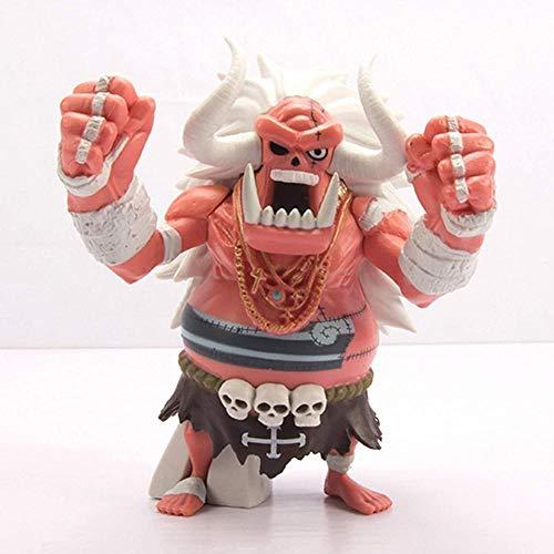 Yzoncd Anime One Piece Giants Oz Ace Fists of Fire S Partner Gk Figura de acción de colección Modelo de Juguete 12Cm