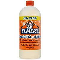 2-Pack Elmer's Glue Magical Liquid Activator Solution, 1 Quart