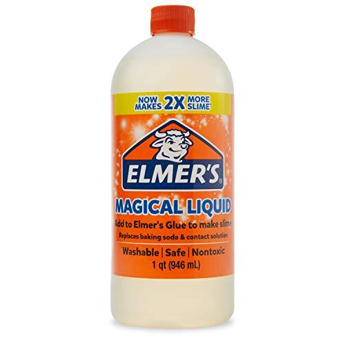 Elmer's Glue Magical Liquid Activator Solution, 1 Quart Slime Activator