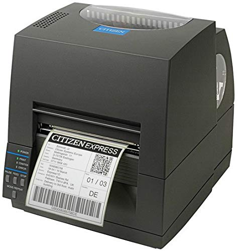 Citizen CL-S621II Printer Black CL-S621II, Direct Thermal /, W125629723 (CL-S621II, Direct Thermal/Thermal Transfer, POS Printer, 203 x 203 DPI, 150 mm/sec, 10.4 cm, 2.54 m)
