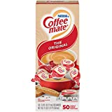 Nestle Coffee mate Coffee Creamer, Original, Liquid Creamer Singles, Box of 50 Singles