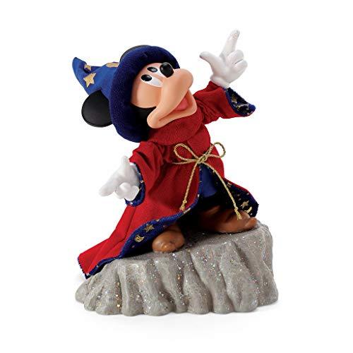 Enesco Disney Stregone Topolino Fantasia Figura 25,4 cm, Poliestere, Multicolore
