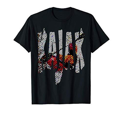 Kanu, Kajak, Kanadier und Paddeln, Kajak ! T-Shirt