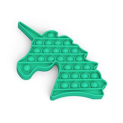 Bdwing Silicona Sensorial Fidget Juguete, Push Pop Bubble Sensory Toy Empujar Pop Pop Burbuja Sensorial Fidget Autismo Necesidades Especiales Aliviador estrés Juguetes Educativos para Niños Adultos de BDwing
