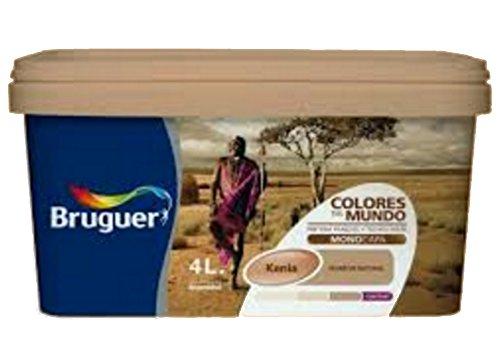 Bruguer 5057082 - Colores del mundo Kenya MARRÓN suave 4 L