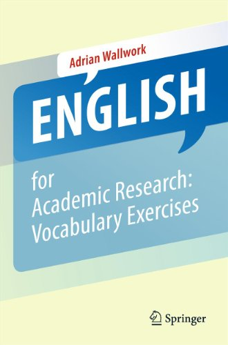 English for Academic Research: Vocabulary Exercises (English Edition) PDF Books