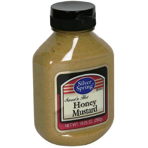 Silver Springs 55% OFF Honey Mustard 10.25-Ounce Bottles Pack shipfree Squeeze