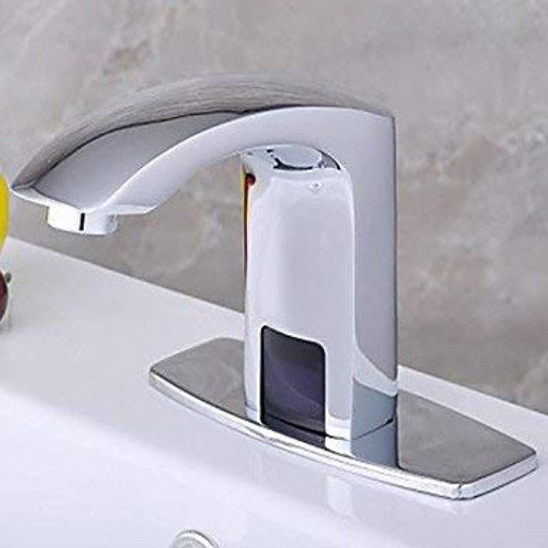 SEEKSUNG Bad Waschbecken Wasserhhne MittellageKeramisches entil Einhand Ein LochWaschbecken Wasserhahn