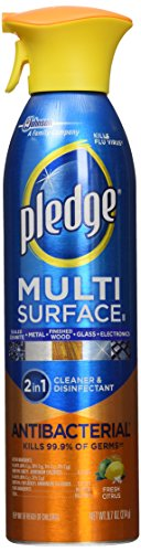 Our #7 Pick is the Pledge Multi-Surface Antibacterial Cleaner