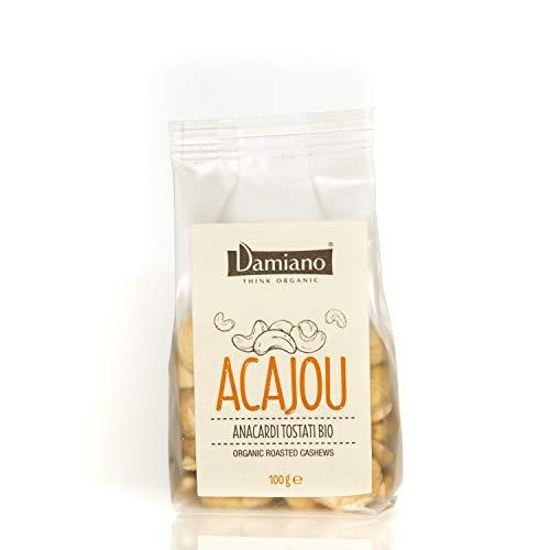 Anacardi Tostati Biologici - Senza Glutine e Vegan Friendly - Sacchetto da 100g