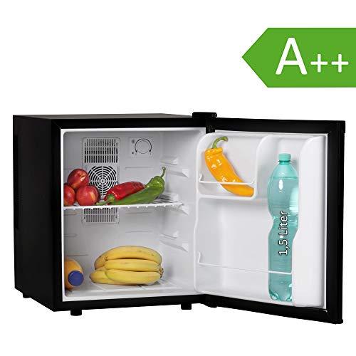 FineBuy Mini Kühlschrank Schwarz/Minibar/Getränkekühlschrank 5° bis 15°C 46 Liter