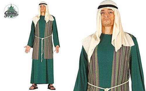 Guirca Disfraz de Pastor Verde Hombre - L