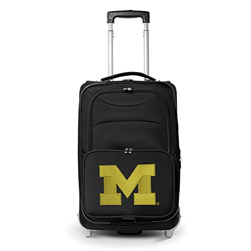 Denco NCAA Michigan Wolverines 21-inch Carry-On Luggage