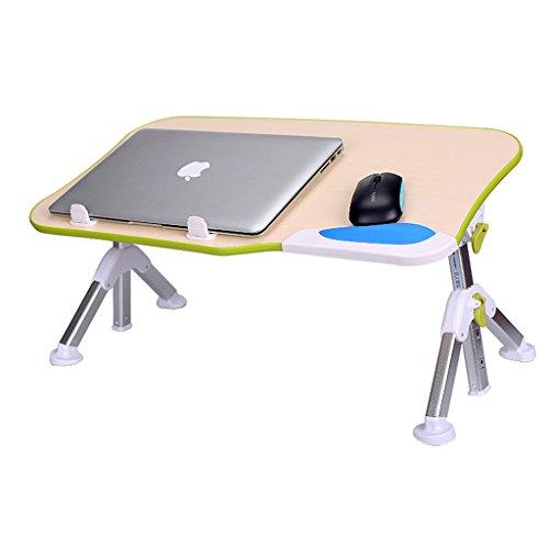 Bureau d'ordinateur Bureau d'étudiant Petite table dortoir paresseux Conseil d'ordinateur portable pliant lit multifonction