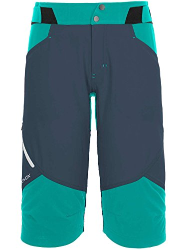Ortovox Damen Outdoor Hose Pala Short Outdoorhose, XS, Night Blue