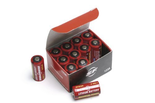 Surefire 12 Pack Boxed 123A Lithium Batteries, Model: SF12-BB, Gadget & Electronics Store