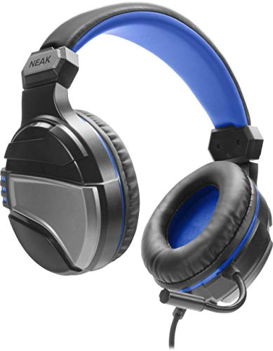 Speedlink NEAK Gaming Headset - Gaming Headset mit Stereo Sound für die PS4 und alle Geräte mit einem oder Zwei Klinkenanschlüssen, schwarz