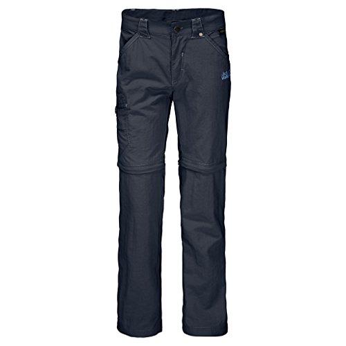 Jack Wolfskin Kinder SAFARI Zip Off Pants, Blau (night blue), 152