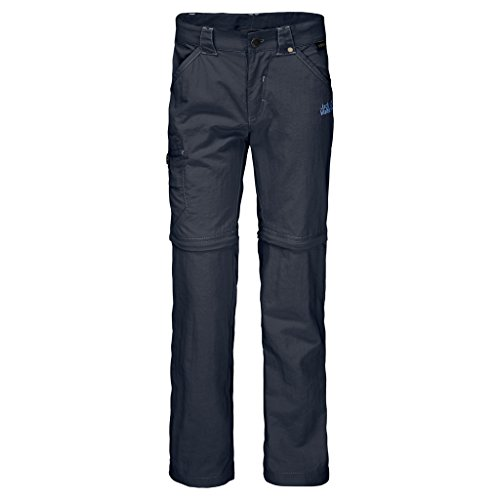 Jack Wolfskin Kinder SAFARI Zip Off Pants, Blau (night blue), 152