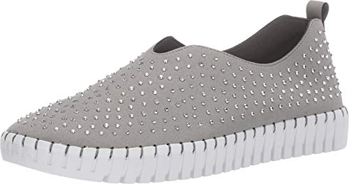 Skechers Women's Sepulveda Bvd-City Dweller Sneaker, Grey, 11 M US