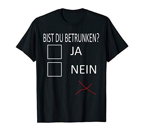 Halloween Party Saufen Kostüm Funny Betrunken Lustiges Shirt T-Shirt