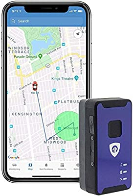 Spark Nano 7 4G LTE Micro GPS Tracker for Covert Monitoring of Teen Drivers, Kids, Elderly, Employees, Assets