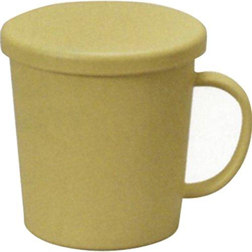 マグ : キャンディ レンジ対応フタ付マグカップ ベージュ M15590-7
