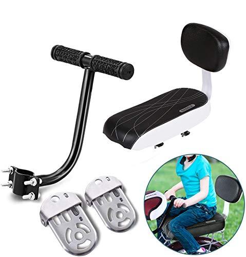 Auvstar - Cuscino per portapacchi della bici per il trasporto di bambini, TZ-118, Black set