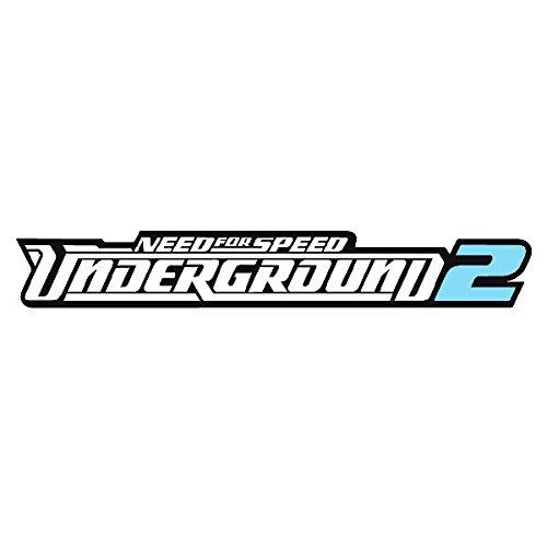 Need for Speed Underground 2 Aufkleber Autoaufkleber Sticker Auto`+ Bonus Testaufkleber
