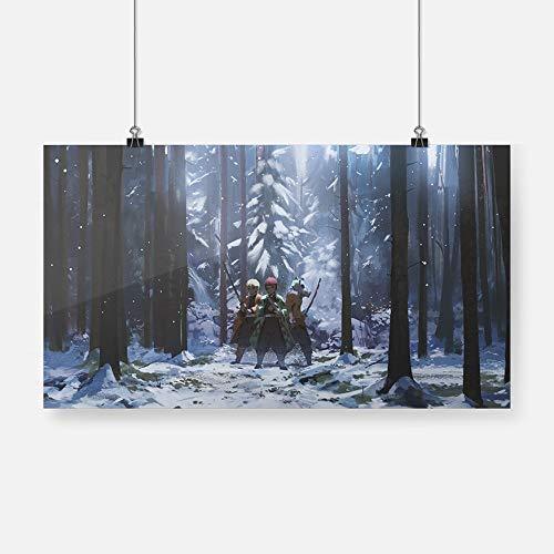 Hashibira Inosuke Agatsuma Zenitsu Kimetsu No Yaiba Kamado Tanjirou cartel lienzo pared arte decoración impresiones decoración pintura-Pintura de Diamante 5D de bricolaje-Regalo de Navidad