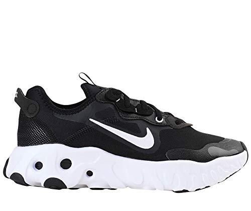 Nike W React ART3MIS, Zapatillas para Correr Mujer, Black White Black, 37.5 EU