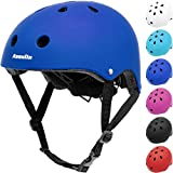 Kids Helmet Bike Adjustable Toddler Skateboard Helmet for Boys Girls Ages 3-8 Years Old, Multi-Sport Safety Cycling Skating Scooter Roller Skateboarding BMX Helmet, Impact Resistant & Ventilation
