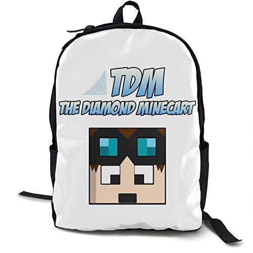 D-an-T-D-M Kids Backpack Lightweight School Bookbag Fashion Travel Daypack